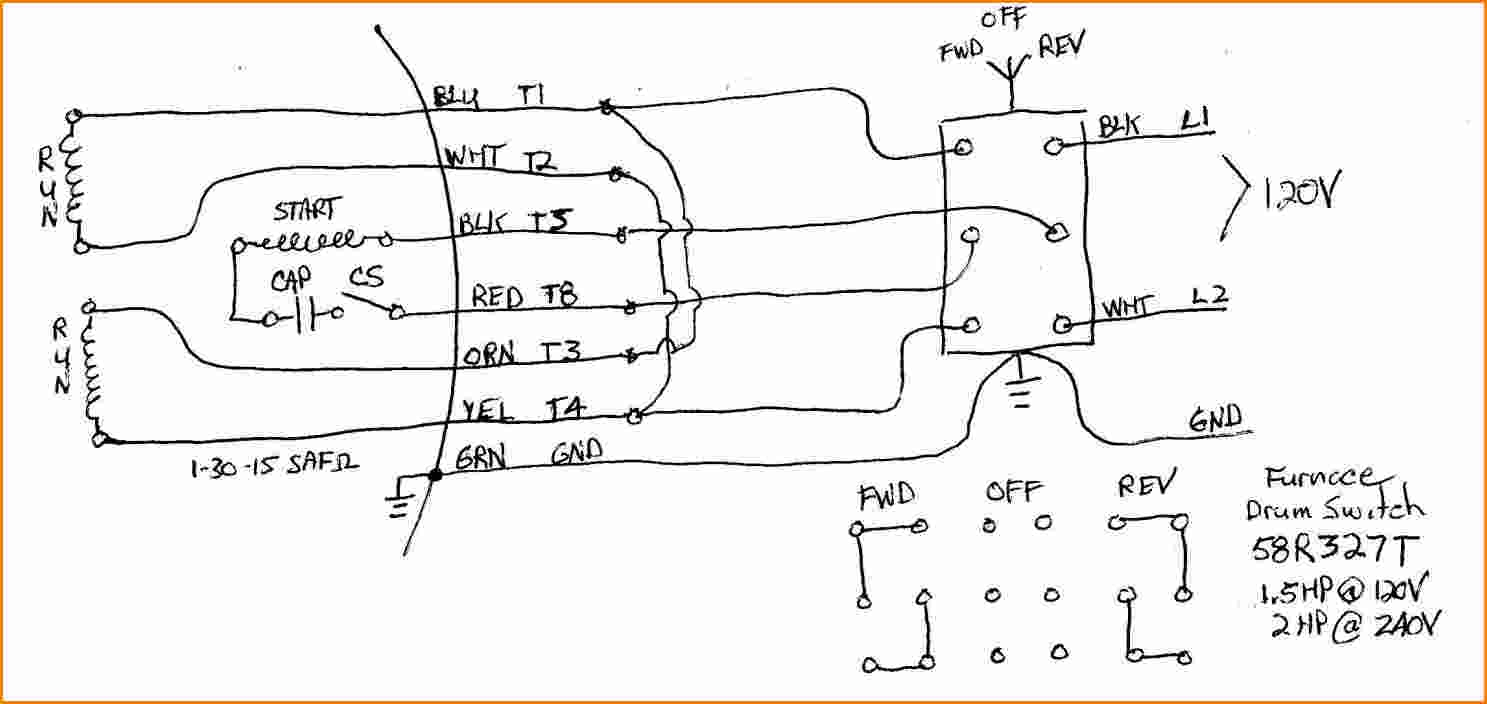 Dayton Drum Switch Wiring Diagram