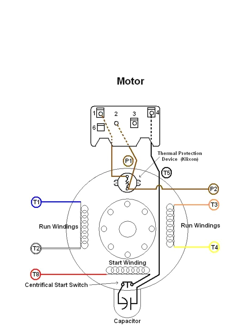 Dayton Electric Motors Wiring Diagram | Free Wiring Diagram on