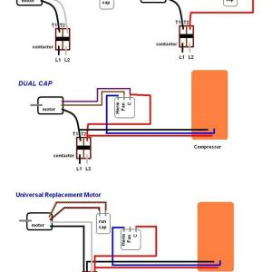 Dc Motor Wiring Diagram 4 Wire - Ac Condenser Fan Motor Wiring Diagram Elvenlabs Lovely 3 Wire 18i