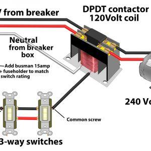 Definite Purpose Contactor Wiring Diagram - 3 Way Switches Control Contactor 1000 240 Volt Wiring Diagram 0 Rh Natebird Me Motor Starter Wiring Diagram Relay Wiring Diagram 19c