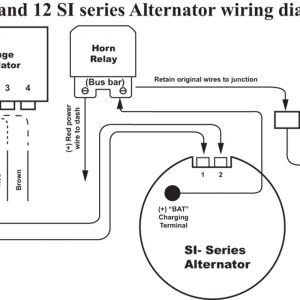 Delco Alternator Wiring Diagram - Delco Alternator Wiring Diagram Ac Entrancing 10si 12q