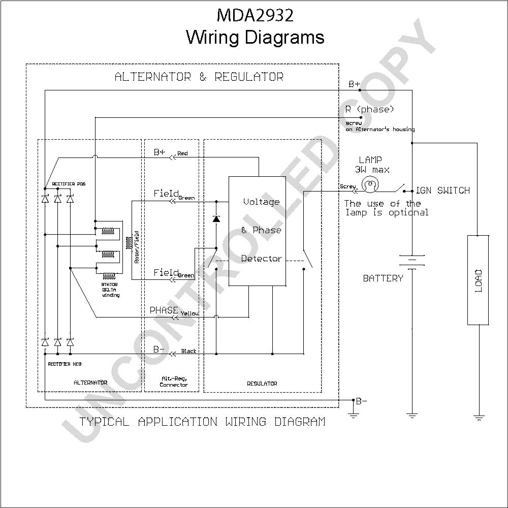 delco alternator wiring schematic Collection-delco alternator wiring schematic Download MDA2932 Wiring Diagram 5 e 9-i
