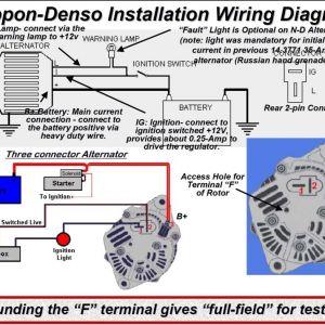 denso alternator wiring schematic free wiring diagram. Black Bedroom Furniture Sets. Home Design Ideas