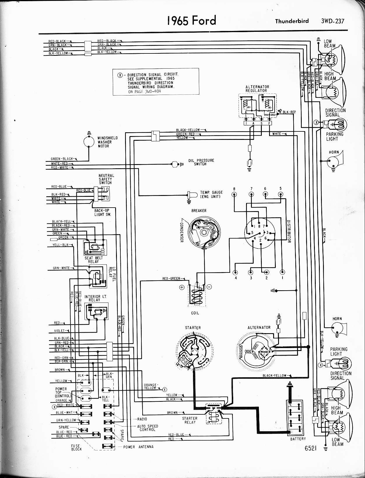 Denso Alternator Wiring Schematic