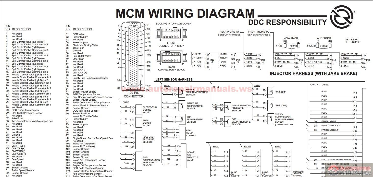 Detroit Diesel Series 60 Wiring Diagram