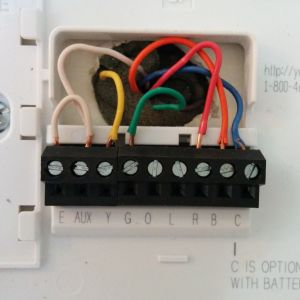 Digital thermostat Wiring Diagram - Wiring Diagram for Honeywell Wall thermostat Valid Honeywell Digital thermostat Th3110d1008 Wiring Diagram Wiring 17e