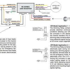 Dimmable Ballast Wiring Diagram - Iota I 24 Emergency Ballast Wiring Diagram Iota I 24 Emergency Ballast Wiring Diagram Luxury 19g