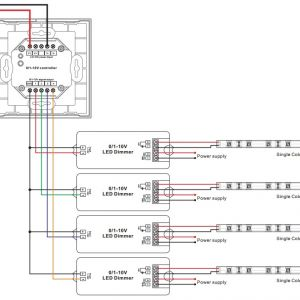 Dimming Ballast Wiring Diagram - Wiring Diagram 0 10v Dimmer New touch Panel Sr 2830a 1 Led Dimming 4a