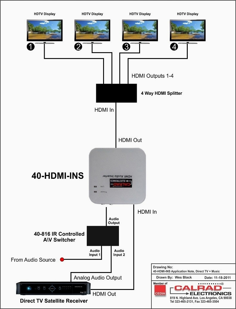 Directv Wiring Diagram Whole Home Dvr