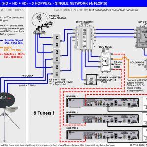 Dish Network Wiring Diagram - Dish Tv Wiring Diagram Download Fleetwood Rv Tv Wiring Diagram Beauteous Satellite 13 C 4o