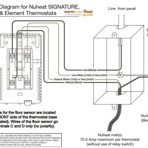 Ditra Heat thermostat Wiring Diagram - Nuheat thermostat Wiring Diagram Collection 13k