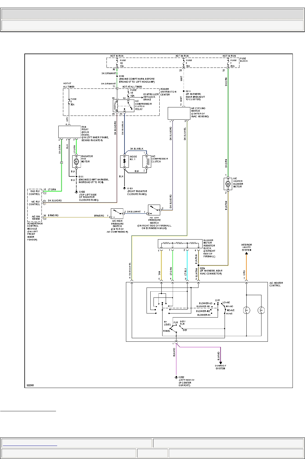 99 Neon Wiring Diagram