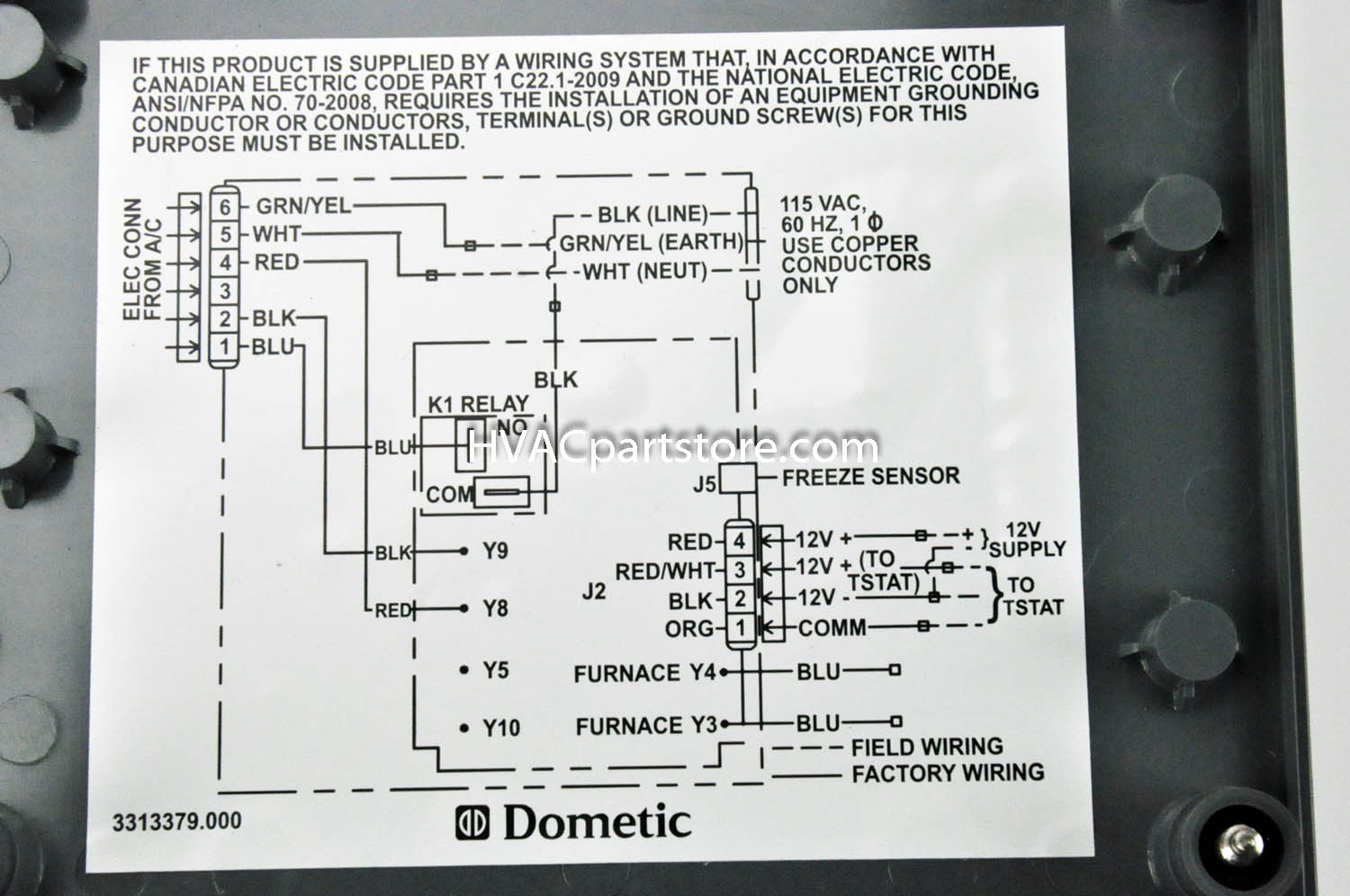 dometic rv thermostat wiring diagram Collection-Samples Duo therm thermostat Wiring Diagram In Dometic Rv 5-e