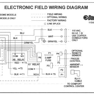 Dometic thermostat Wiring Diagram - Wiring A Ac thermostat Diagram New Duo therm thermostat Wiring 7p