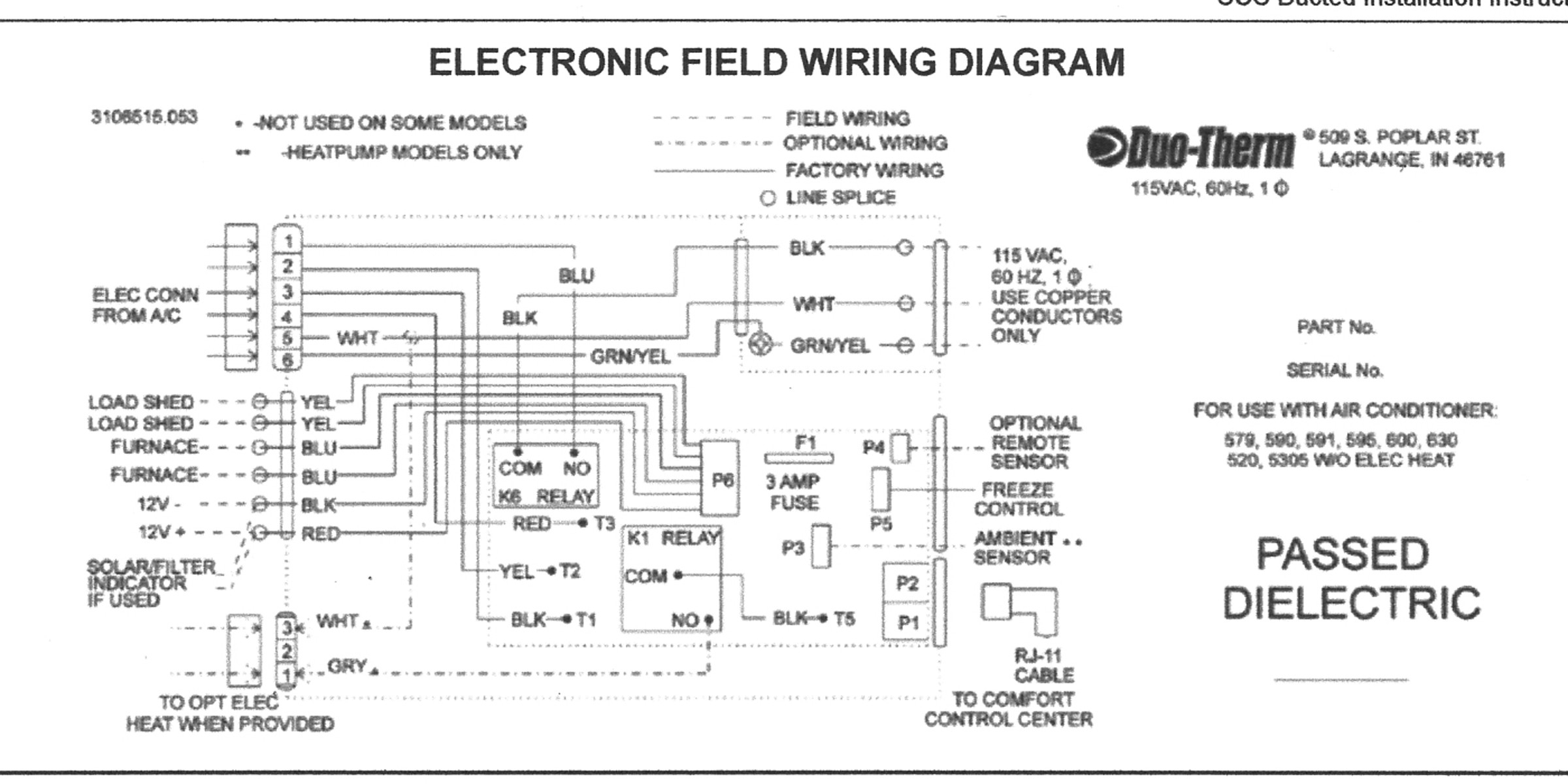 Dometic thermostat Wiring Diagram | Free Wiring Diagram on