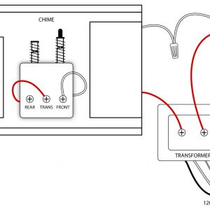 Door Bell Wiring Diagram - Second Doorbell Transformer Wiring Also Doorbell Transformer Wiring 18k