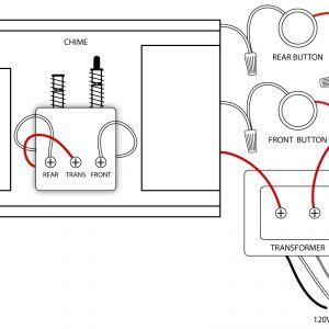 Doorbell Wiring Diagram - Front and Rear Doorbell Wiring Diagrams 15t