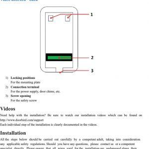 Surprising Doorbird Wiring Diagram Free Wiring Diagram Wiring Digital Resources Indicompassionincorg
