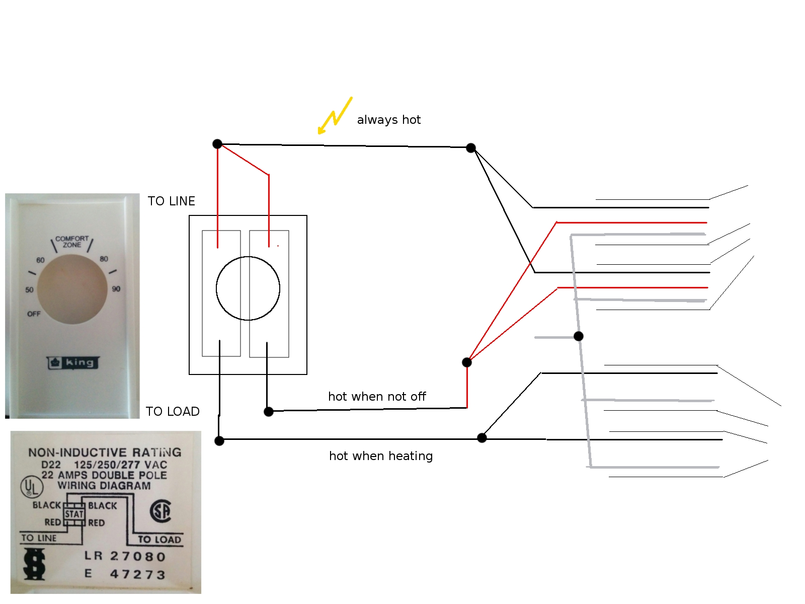 double pole thermostat wiring diagram Download-double pole thermostat wiring diagram Download H2K7x In Double Pole Thermostat Wiring Diagram 4 4-o