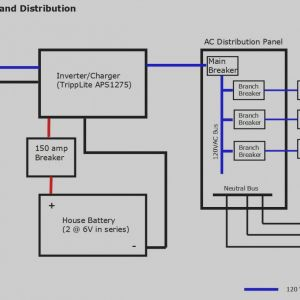 Dual Lite Inverter Wiring Diagram - 21 Wonderful Rv Inverter Charger Wiring Diagram and Rv Electrical with Branch 8k