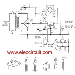 Dual Pro Charger Wiring Diagram - Dual Pro Charger Wiring Diagram Lovely 3a Adjustable Voltage Regulator Circuit with Pcb Eleccircuit 19h