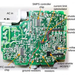 Dual Pro Charger Wiring Diagram - the Printed Circuit Board From An Apple 85w Macbook Power Supply Showing the Tiny Ponents 13t