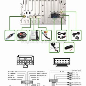 Dual Stereo Wiring Harness Diagram - Wiring Diagram Subwoofer Wiring Diagrams Beautiful Dual Car Stereo 13r