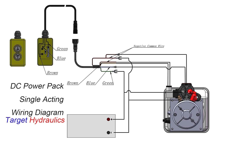 Dump Trailer Hydraulic Pump Wiring Diagram