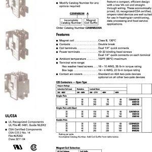 Eaton C25bnb230a Wiring Diagram - Eaton C25bnb230a Wiring Diagram New Cat Master Bu Catalog 8j