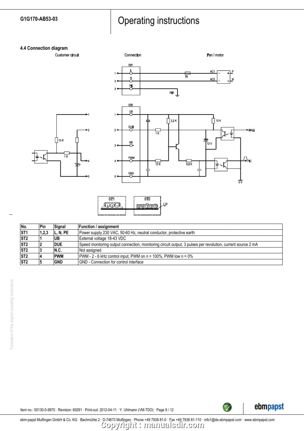 3 Speed Fan Motor Wiring Diagram 110v