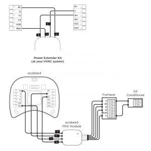 Ecobee3 Wiring Diagram - Alternator Welder Wiring Diagram Refrence Ecobee3 Lite with Pek for Heatpumps Ecobee Support 13 6 19e