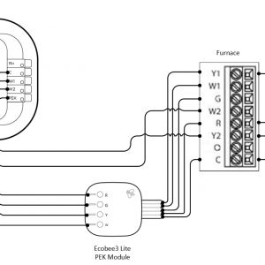 Ecobee3 Wiring Diagram - Ecobee3 Lite with No C Wire 2 Stage Heat Cool Systems Ecobee Support for Wiring Diagram 7l