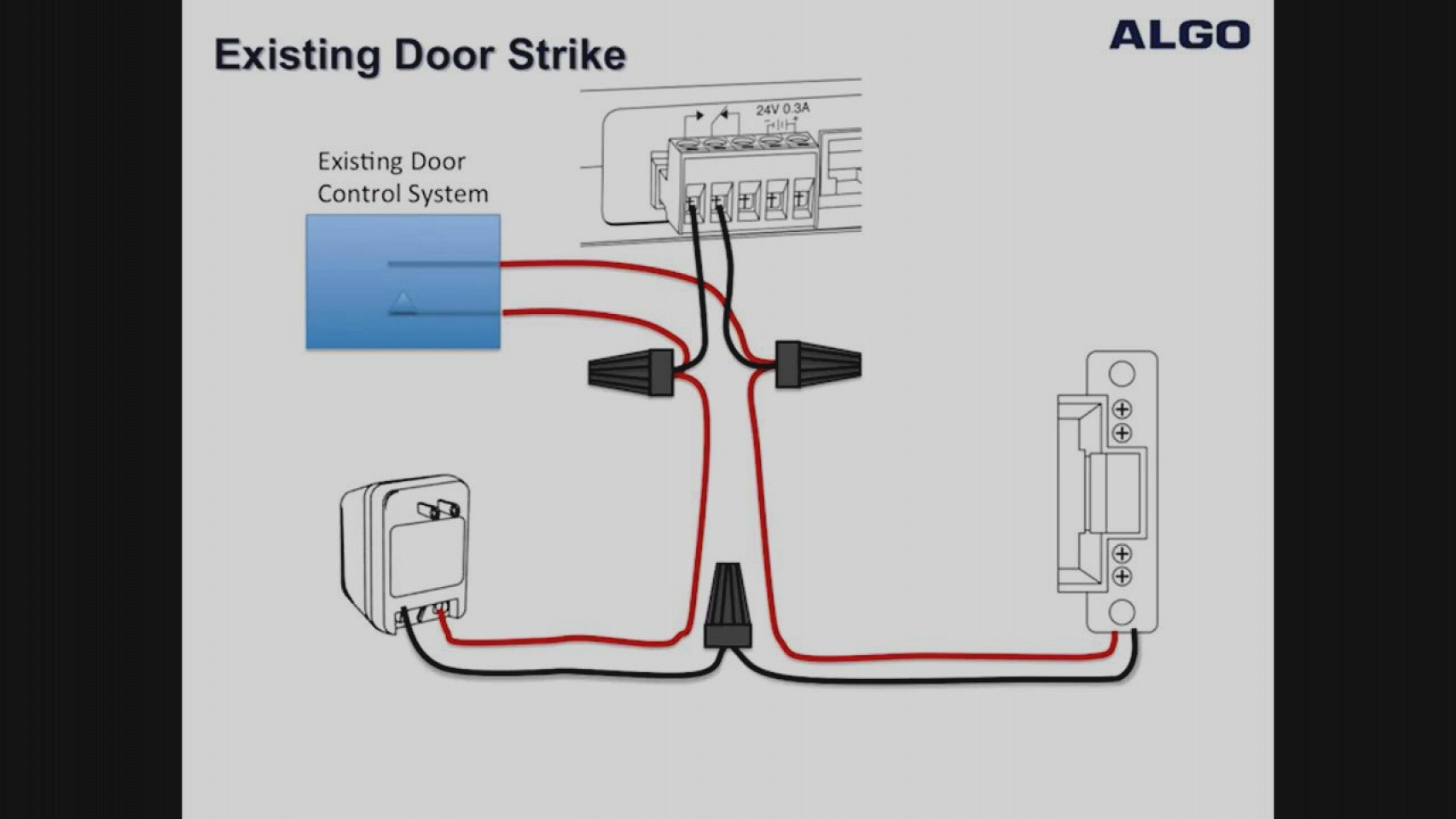 Electric Door Strike Wiring Diagram