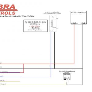 Electric Door Strike Wiring Diagram - Electric Strike Door Lock Wiring Diagram Wiring Harness Wiring Rh Statsrsk Co 17b