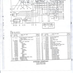hyster forklift tire diagram, hyster 5.0 engine, hyster forklift schematic, hyster w40z, hyster electrical diagrams, hyster hydraulic diagram, hyster ignition system, on wiring diagram hyster 100