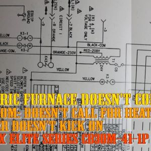 Electric Furnace Wiring Diagram - How to Troubleshoot Electric Furnace Hvac Heat Doesnt E On Repair Lennox Air Condition 7o