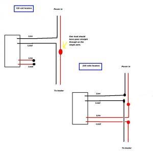 Electric Heat thermostat Wiring Diagram - thermostat Wiring Diagram Double Pole Baseboard Heater thermostat Rh Daniablub Co 16b