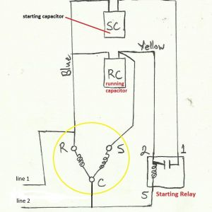 Electric Motor Capacitor Wiring Diagram - Electric Motor Capacitor Wiring Diagram Air Pressor Capacitor Wiring Diagram before You Call A Ac 3g