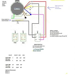 Electric Motor Reversing Switch Wiring Diagram - Dayton Electric Motors Wiring Diagram Collection Dayton Motor Wiring solutions 17 2 C 3h
