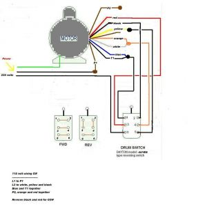 Electric Motor Wiring Diagram 110 to 220 - Electric Motor Wiring Diagram 220 to 110 Download Motor Start Capacitor Wiring Diagram for 220v 14f