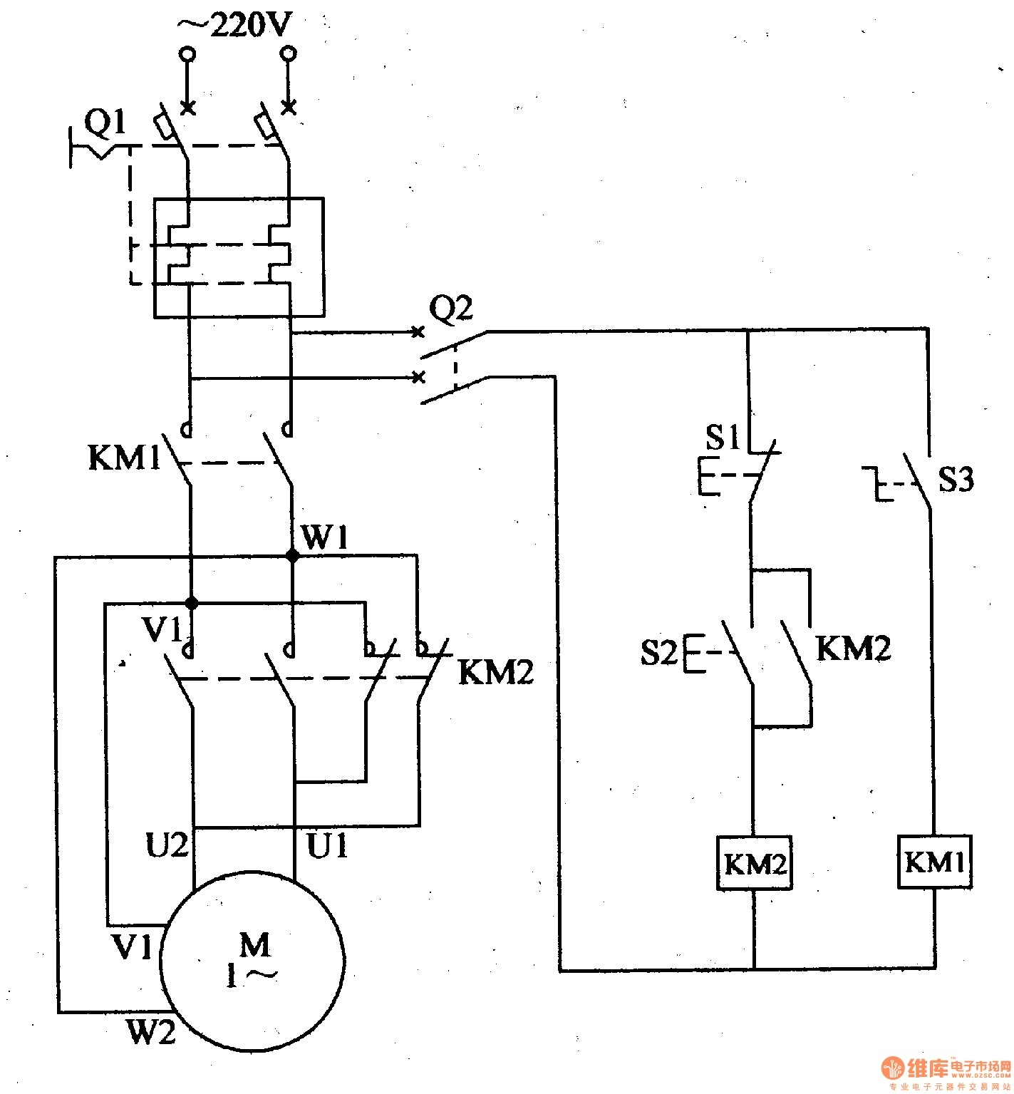 Electric Motor Wiring Diagram 110 to 220 | Free Wiring Diagram