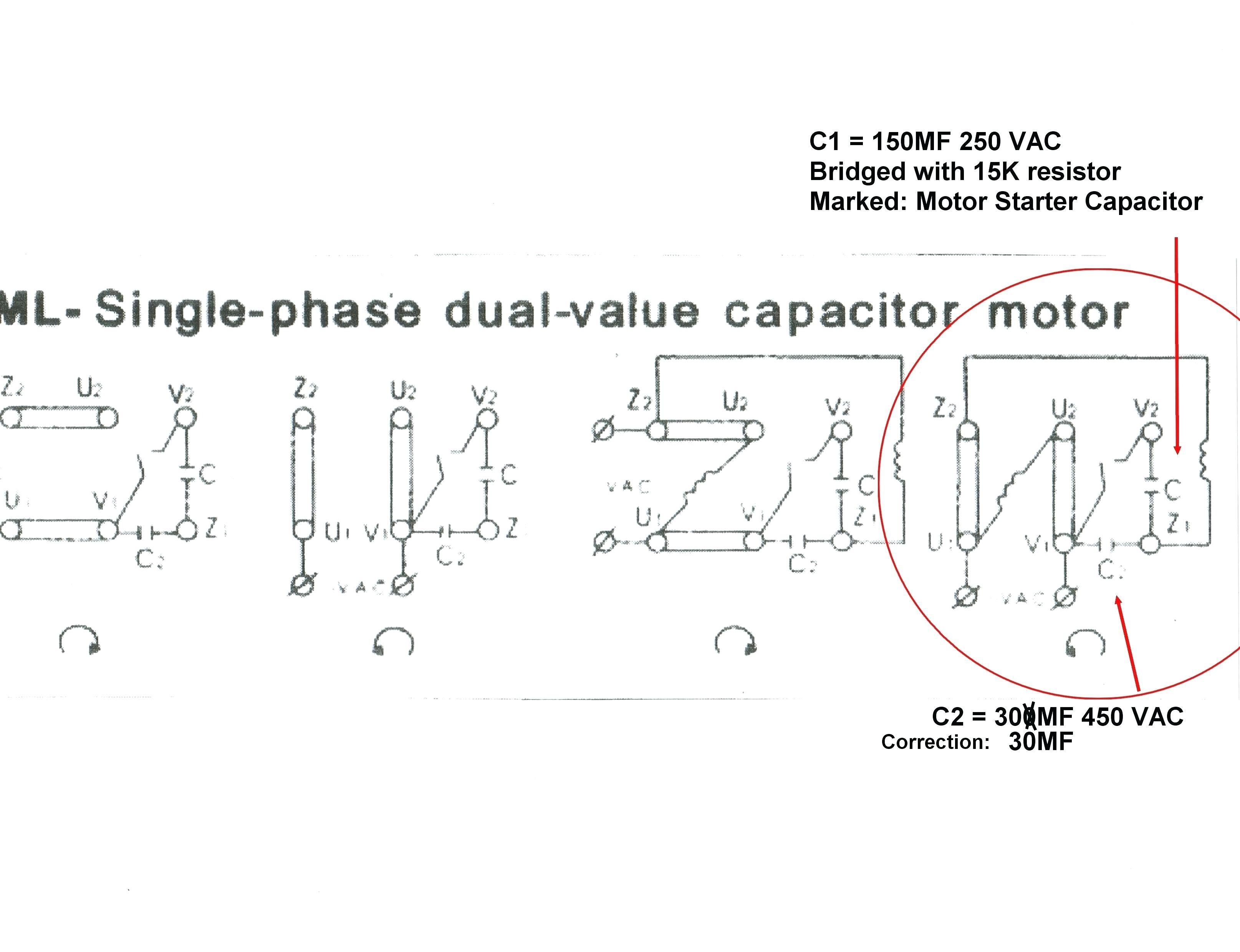 motor capacitor wiring diagram 110 electric motor wiring diagram 110 to 220 | free wiring diagram 5 hp baldor motor capacitor wiring diagram moreover #1