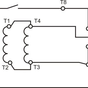 Electric Motor Wiring Diagram 220 to 110 - Electric Motor Wiring Diagram 220 to 110 Wiring Diagram for Single Phase Reversing Motor Best 8a