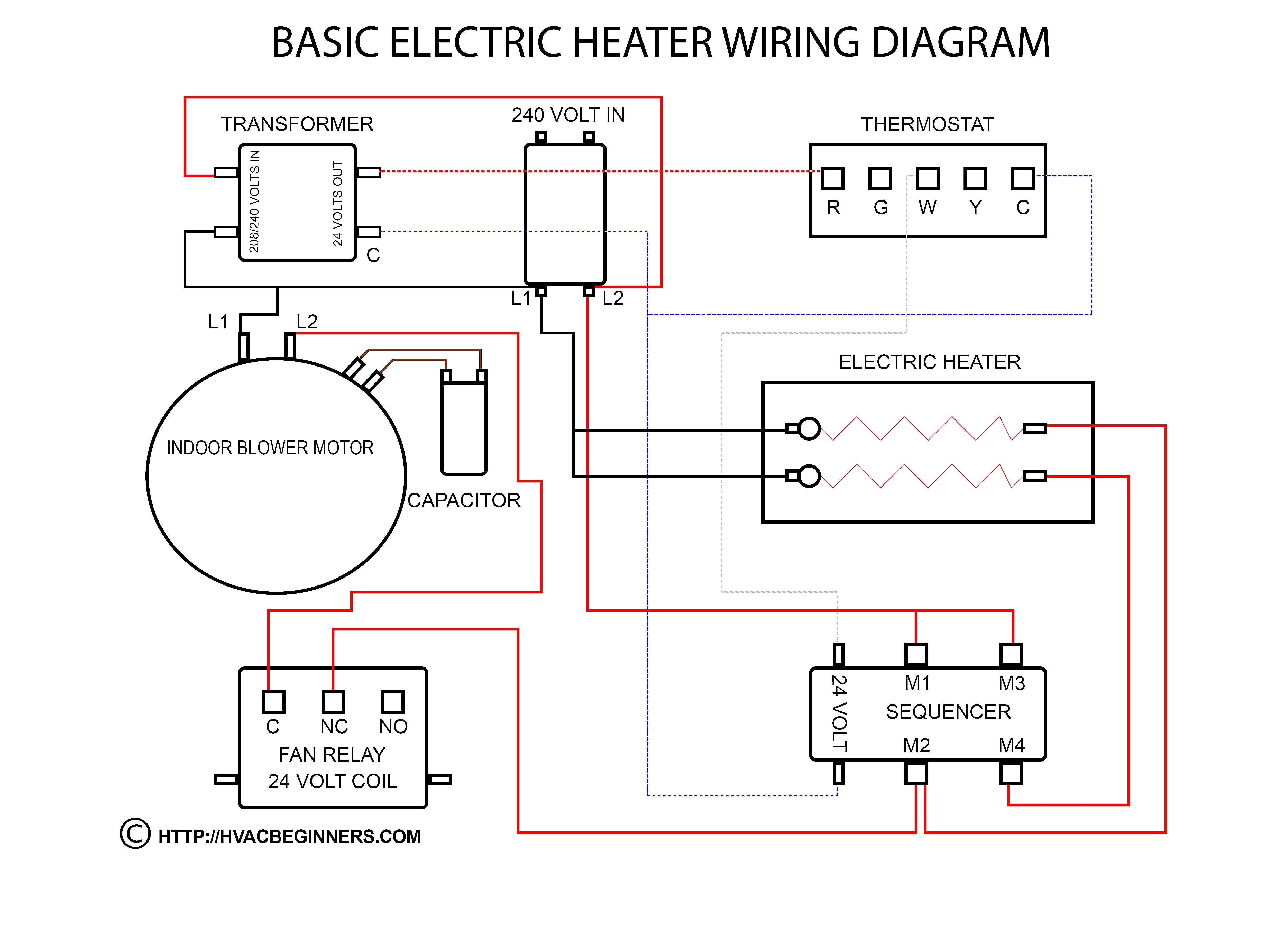 Electric Water Heater thermostat Wiring Diagram | Free ...