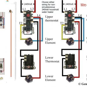 Electric Water Heater thermostat Wiring Diagram - Wiring Diagram Electric Water Heater Fresh Wiring Diagram for An Electric Water Heater Refrence Electric Water 7b