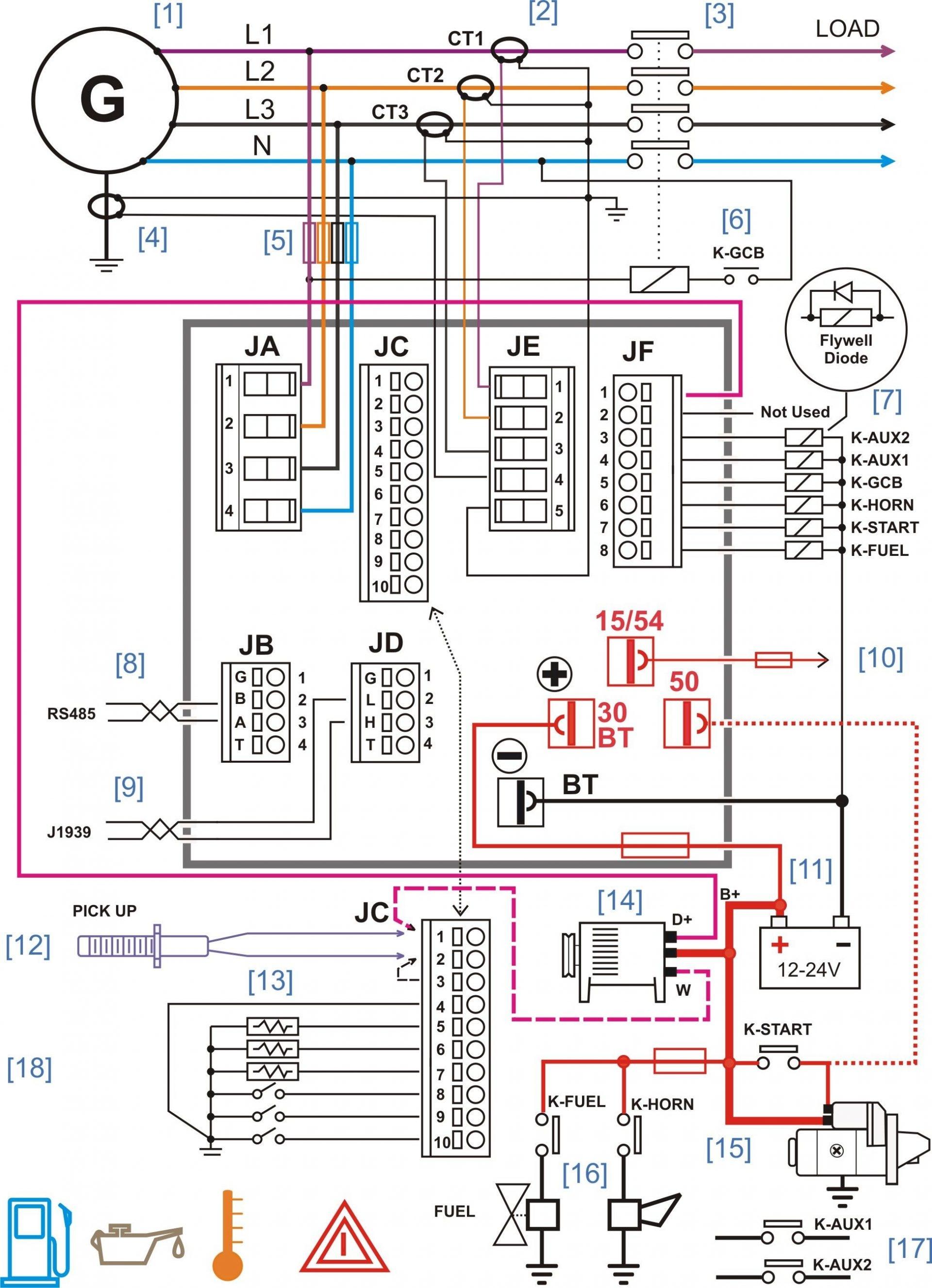 Electrical Control Panel Wiring Diagram Pdf