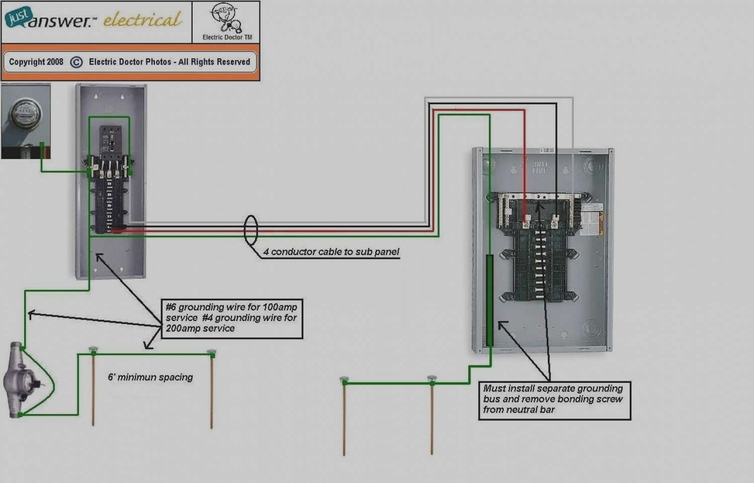 electrical sub panel wiring diagram Collection-27 Inspirational Pool Sub Panel Wiring Diagram 100 Amp Image 19-t