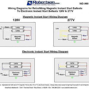 Electronic Ballast Wiring Diagram - Robertson Ballast Wiring Diagram Beautiful Ballast Wiring Diagram Splendid Appearance Robertson isl Fluorescent 20b
