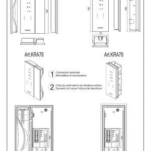 Elvox Intercom Wiring Diagram - Elvox Inter Wiring Diagram Beautiful Videx Installation Instructions 10c
