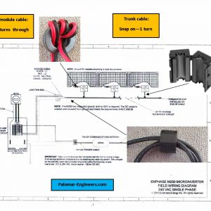 Enphase Micro Inverter Wiring Diagram - Enphase Field Wiring Diagram Download Palomar Engineers solar Interference Filter Installation Diagram 2 18 5q